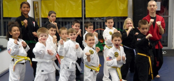 Kids Karate in Pittsburgh: Basic Skillz 5-7 Yr Olds